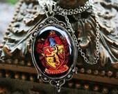 Gryffindor House Crest Necklace