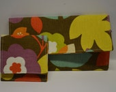 Custom Accordion Cash or Coupon - Wallet - Clutch - Organizer AND Change Purse
