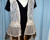 Isadora  light and lacey vest