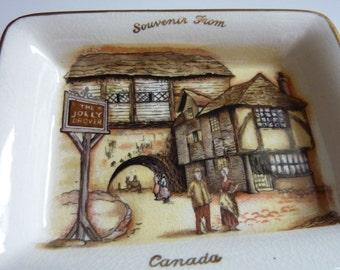 Souvenir from Canada The Jolly Drover Sandland Ware Lancaster and Sandland Ltd. Hanley Staffordshire England