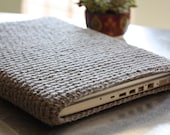 Mac Book Air 11 inch Crochet Cover Sleeve Case in Graphite Gray