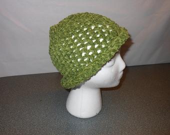 Crochet Brimmed Hat