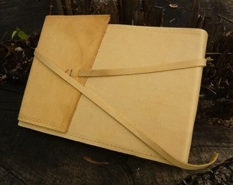 Rustic Wraparound Journal - Genuine Leather