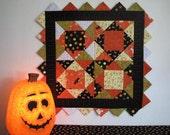 Happy Halloween - Pumpkin Wall Hanging