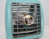 Vintage 40s 50s Tropic-Aire Portable Electric Space Heater, Excellent Working Condition