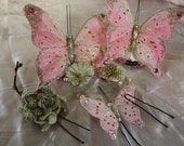 Butterfly Pasties and 5 Hairpins