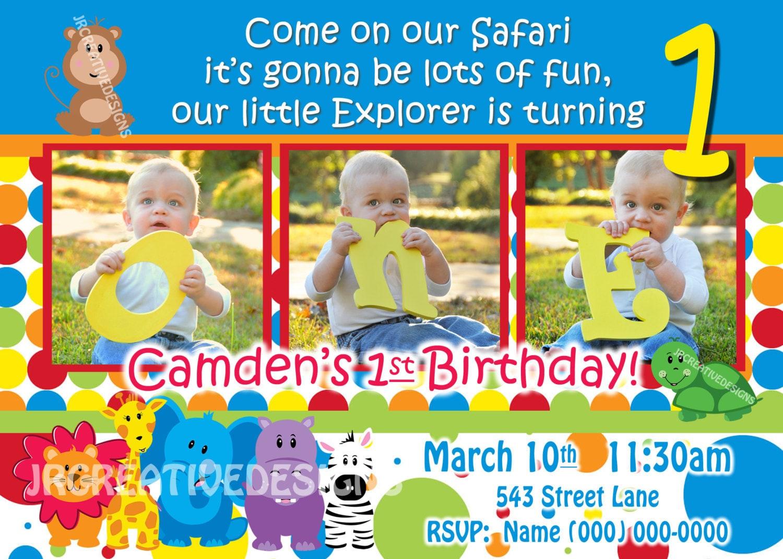 Safari Friends Invite Safari Invite Safari Invitation Jungle - Birthday party invitations jungle