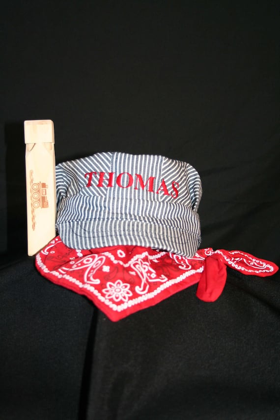 Train Engineer Set, Personalized