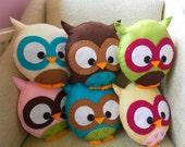 Custom Large Owl Plush Toy