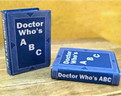 Doctor Who's ABC Book: A miniature alphabet book inspired by the world of Doctor Who