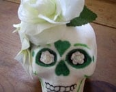 Day of the Dead sugar skull - LAST CHANCE 50% OFF