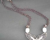 Butterfly Kisses Choker Necklace