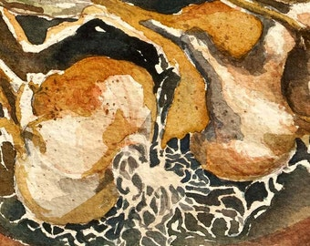 Garlic - Artist's Proof Giclee Print