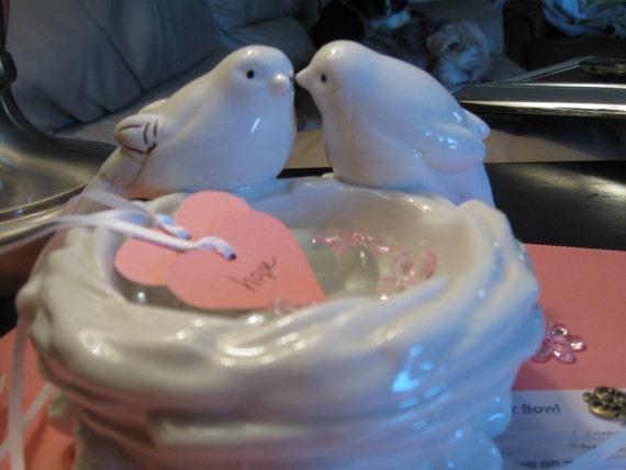 Gift of Prayer Bowl of Birds in a Nest