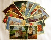 Naughty Show Postcard Collection by Ilona Sampovaara