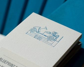 Blueprint Notes - Golfcart Diagram
