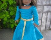 Brave Merida Inspired Dress for American Girl Doll