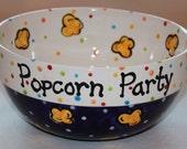 Ceramic Popcorn Bowl