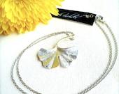Ginko Leaf Necklace
