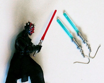 Lightsaber Earrings Jedi (Light Blue)