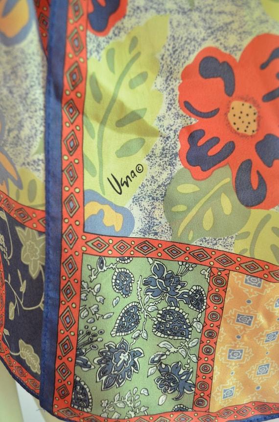 RESERVED FOR BTIMOM--Vera Scarf // Long Floral // Rectangular // Boho