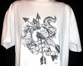 Shirts t-shirts tops (christian,bible verse,cross,youth group,convention,fair,church,band,hands,arrow,tattoo,gift, children,men,women)