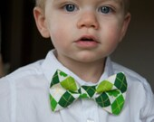St. Patrick's Day Bow Tie Collection - Toddler, Little Boy - photo prop