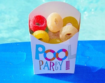 Pool Party Favors, Birthday Party Favors, Pool Party Birthday Favors