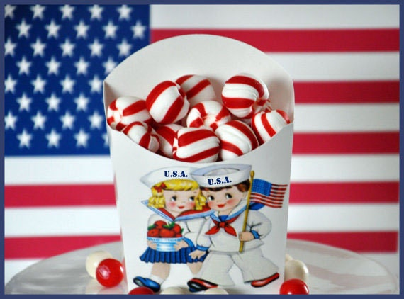 4th Of July Party Favors, Independence Day Party Favors, Fourth Of July, Glamorous Sweet Events
