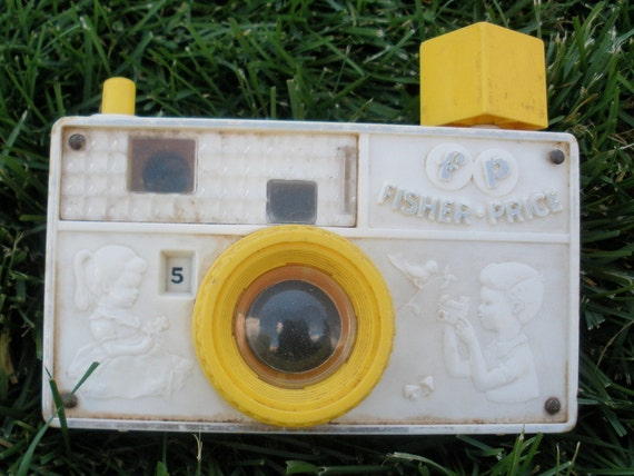 Vintage Fisher Price Picture Story Camera