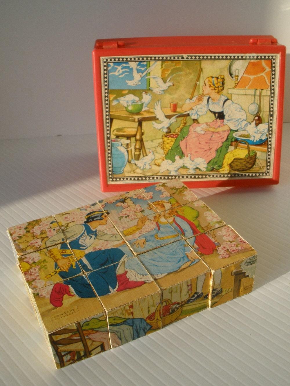 Vintage Wood Puzzles 4
