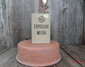 General Electric Exposure Meter 1950 Vintage