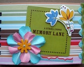 "Mini Memory Album ""A Stroll Down Memory Lane"" ON SALE"