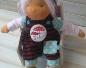 SALE - Handmade Organic Waldorf Doll