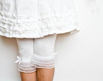 PATTERN and TUTORIAL - Triple Ruffle Petticoat - DIY You Make It