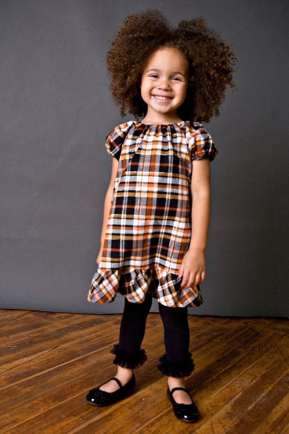 Perfect Peasant Dress PATTERN TUTORIAL EBOOK - Busy Gal Basics Collection Dreamspun Girls 2t 3t 4t 5t 6 7 8 10 12 ePattern