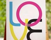 LOVE 8x10 Print - cmyk