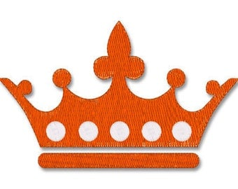 Instant download - CROWN 102- Machine Embroidery Design - F stitches