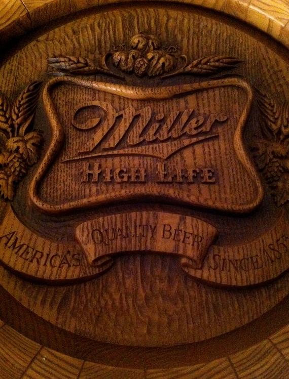 Miller High Life Half Barrel