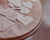 Conversations Hearts Printed on Kraft Paper, Set of 25 for Valentine's Day by Catshy Crafts