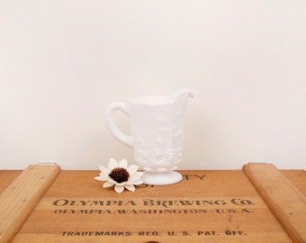 vintage westmoreland milk glass cream dish