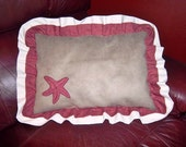 Sea Side Cottage Country Pillow