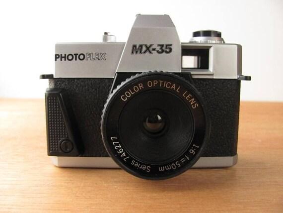 Vintage Photoflex Camera MX-35 35MM Film Toy Plastic