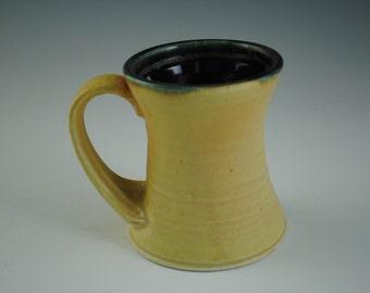 Warm Yellow  Porcelain Coffee Mug