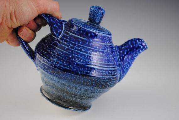 Blue Ceramic Teapot No.2