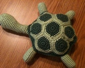 Pattern for Tuckered Out Turtle