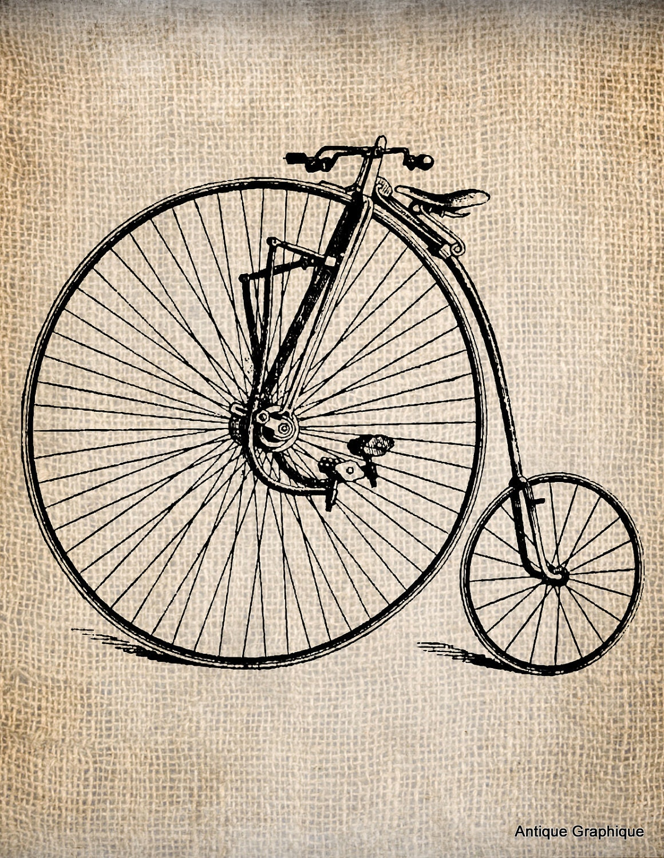 Днем, картинки винтажные велосипеды