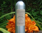 All Natural Organic Rosewater Face/Body Wash-w/ Castile Soap, Jojoba and Essential Oils