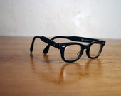Vintage Child's Horn Rimmed Glasses