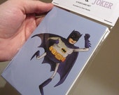Batman & Joker - 6 Postcard set